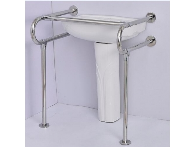 SS304 Handrail-showeroom-lavabo to protect